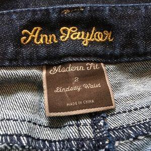 Ann Taylor Jeans - Ann Taylor Modern Fit Lindsay Waist 2